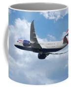 British Airways Boeing 787 Dreamliner Coffee Mug