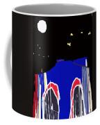 Brooklyn Bridge Blue Coffee Mug