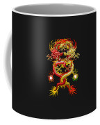 Brotherhood Of The Snake - The Red And The Yellow Dragons Coffee Mug