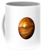 Brown Abstract Globe Coffee Mug