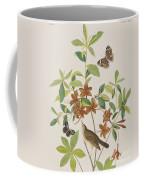 Brown Headed Worm Eating Warbler Coffee Mug