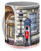 Buckingham Palace Queens Guard Art Coffee Mug