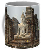Buddha At Sukhothai Coffee Mug