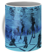 Buds Students Participate In Underwater Coffee Mug