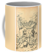 Buffalo Bill And Standing Buffalo Coffee Mug