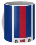 Buffalo Bills Helmet Art Coffee Mug