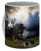 Buffalo Trail  The Impending Storm Coffee Mug