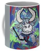 Bullish - A Bull With A Heart - Untie Me Coffee Mug