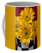 Bunch Of Sunflowers Coffee Mug