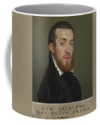 Bust Portrait Of A Young Man With An Inscription Coffee Mug
