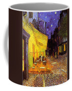 Cafe Terrace At Night Coffee Mug