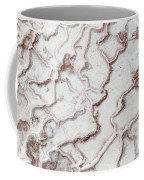 Calcium Deposits From Thermal Springs, Pamukkale - Turkey  Coffee Mug