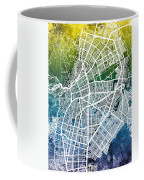Cali Colombia City Map Coffee Mug