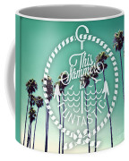 California Palms I Coffee Mug