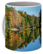 Camp Blanton Autumns Reflection Coffee Mug