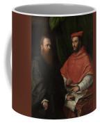Cardinal Ippolito De Medici And Monsignor Mario Bracci Coffee Mug