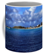 Caribbean Sea And Beach Coffee Mug