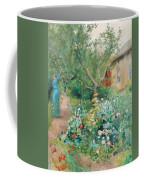 Carl Larsson, Garden Scene From Marstrand On The West Coast Of Sweden. Coffee Mug