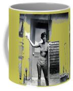 Carolyn Hastings Collage Historic Adobe Building Tucson Az 1967-2013 Coffee Mug