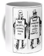Cartoon: U.s. Neutrality Coffee Mug
