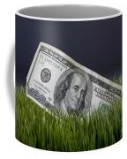 Cash In The Grass. Coffee Mug