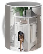 Cat Litter Box Furniture Coffee Mug