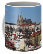 Cathedral Of St Vitus Coffee Mug by Michal Boubin