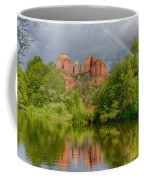 Cathedral Rock Rainbow Coffee Mug