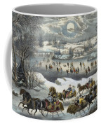 Central Park In Winter Coffee Mug