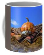 Ceramic Pumpkin On A Roof Coffee Mug