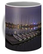 Charles River Boats Clear Water Reflection Coffee Mug