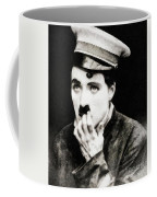 Charlie Chaplin, Vintage Actor And Comedian Coffee Mug