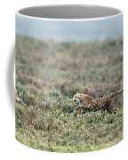 Cheetah Acinonyx Jubatus Hunting Coffee Mug