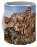 Cheetah Family Tree Coffee Mug