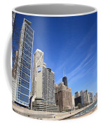 Chicago Skyline And Beach Coffee Mug