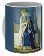 Christ And His Mother Studying The Scriptures Coffee Mug
