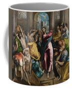 Christ Driving The Traders From The Temple Coffee Mug