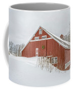 Christmas Barn Coffee Mug