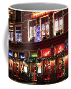 Christmas Decorations On The Buildings, Bruges City Coffee Mug