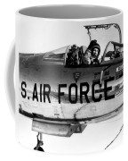 Chuck Yeager, Usaf Officer And Test Coffee Mug