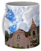 Church In Taormina Coffee Mug