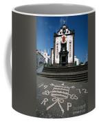 Church In The Azores Coffee Mug
