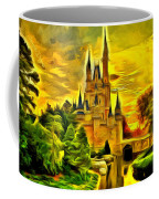 Cinderella Castle - Van Gogh Style Coffee Mug