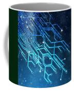 Circuit Board Technology Coffee Mug by Setsiri Silapasuwanchai