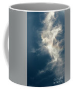 Cirrus Clouds With Nature Patterns  Coffee Mug