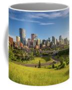 City Skyline Of Calgary, Canada Coffee Mug