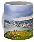 Cityscape Of Saint John's From Signal Hill Coffee Mug