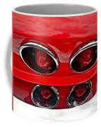 Classic Car Tail Lights Coffee Mug