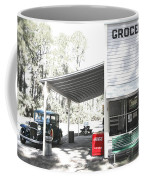 Classic Chevrolet Automobile Parked Outside The Store Coffee Mug by Mal Bray