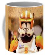Clone Trooper Commander - Free Style Style Coffee Mug